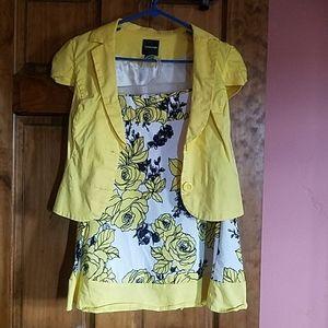 Mymichelle skirt & jacket set, size 9